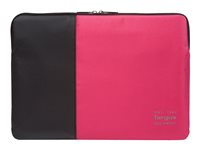 "Targus Pulse Sleeve - Housse d'ordinateur portable - 14"" - noir, rose TSS94813EU"