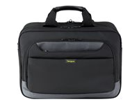 "Targus CityGear Topload Laptop Case With Printer Section - Sacoche pour ordinateur portable - 15.6"" - noir TCG500EU"